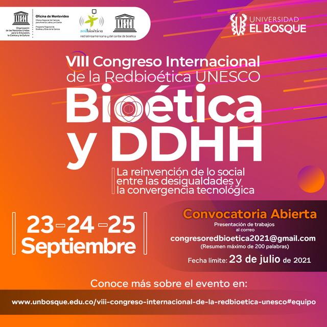 VIII Congreso Internacional de la Redbioética UNESCO